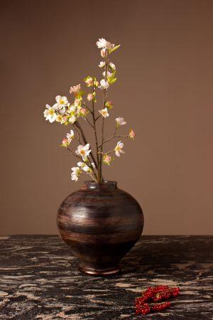Decorama Antique Pine Vase