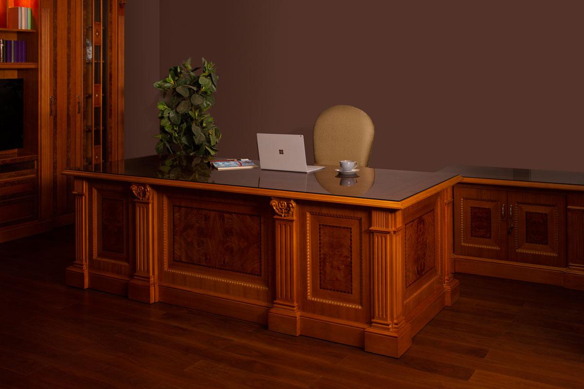 Decorama 4138 Executive Desk