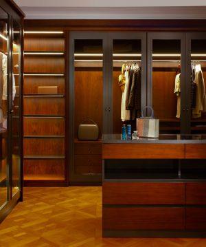 Decorama Dressing Room 6089 Walnut
